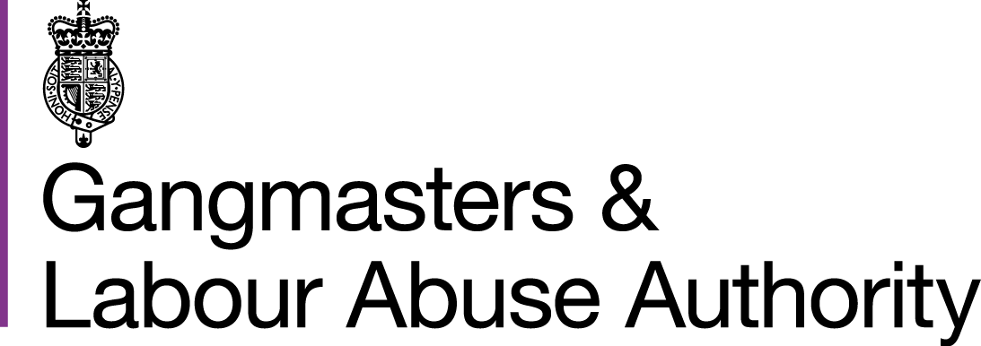 Image result for Gangmasters and Labour Abuse Authority logo
