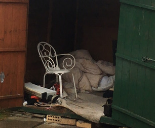 Inside Shed where suspected slave lived Cumbria 2018