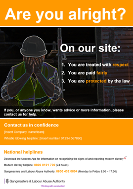 Are you alright poster, on our site you are treated with respect, your are paid fairly, you are protected by the law
