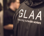 GLAA officer black jacket back
